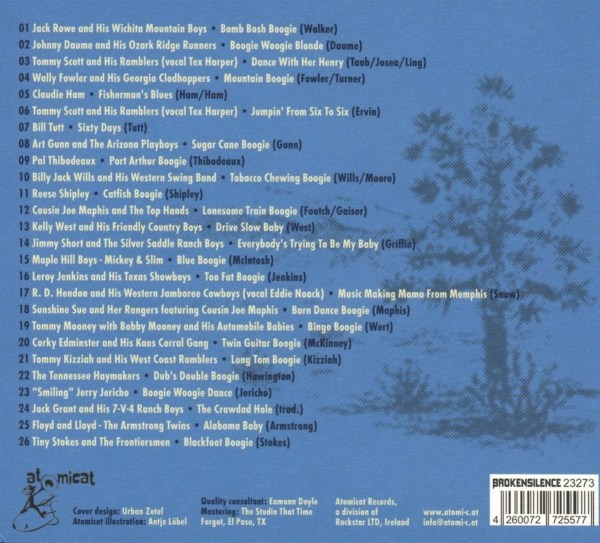 Various Artists - Hillbilly Deluxe - back