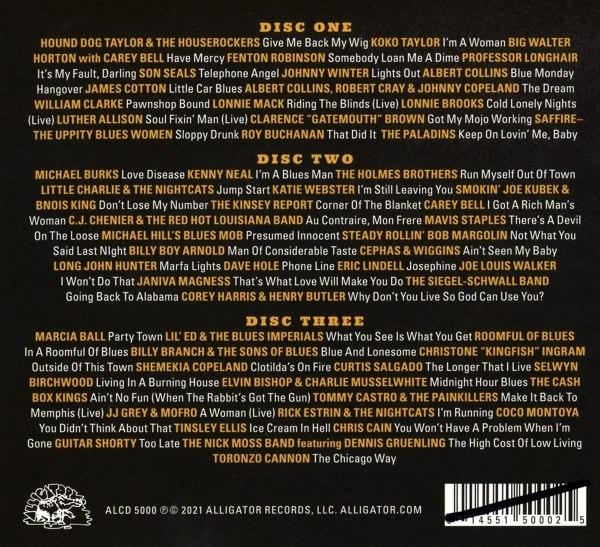 Alligator Records – 50 Years Of Genuine Houserockin' Music - back