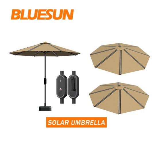 bluesun 10ft outdoor garden patio solar
