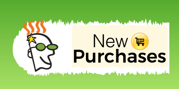 Godaddy new purchases