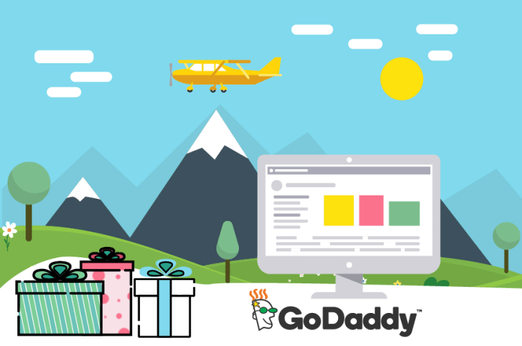 godaddy hosting website web design