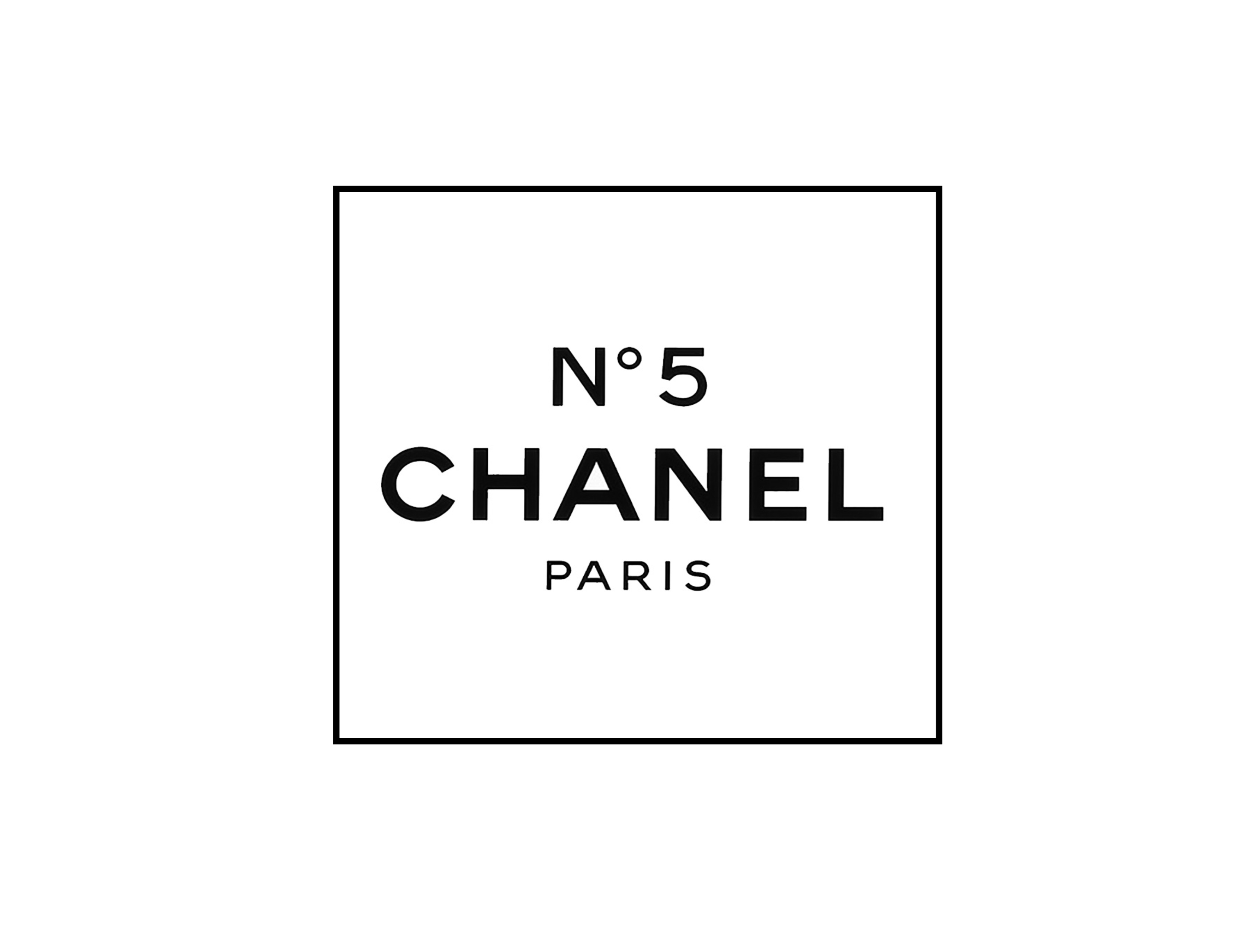 Chanel No 5 Label