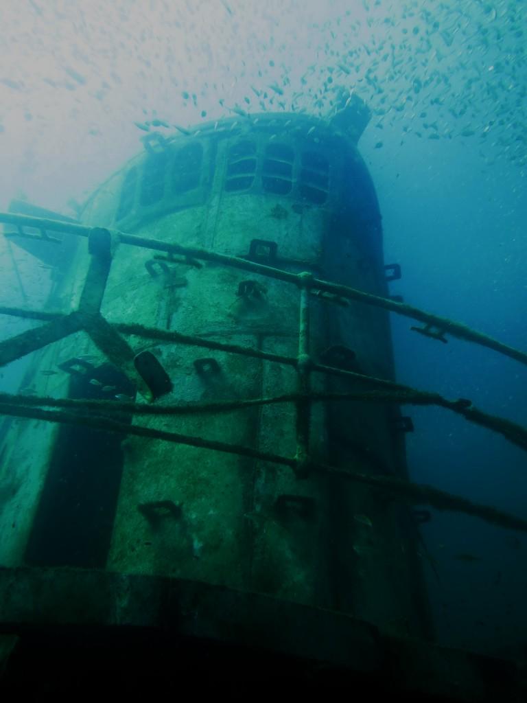 wreck diving padi