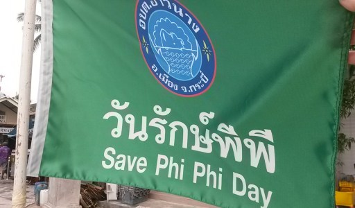 Phi Phi Conservation national park fees phi phi