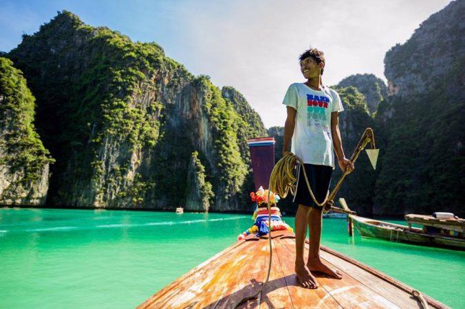 Phi Phi Ley Boat Captain