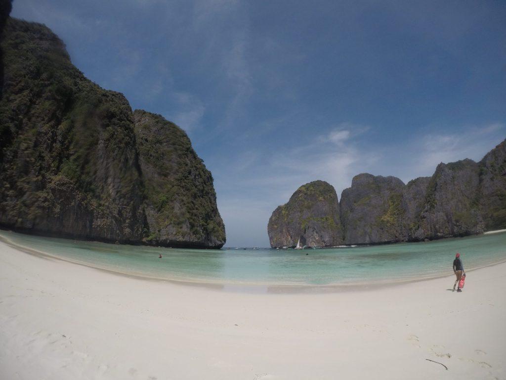 national park fees phi phi, conservation scuba dive phi phi maya bay