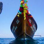 phi phi diving longtail boat