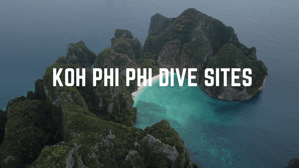 phi phi dive sites, advanced open water