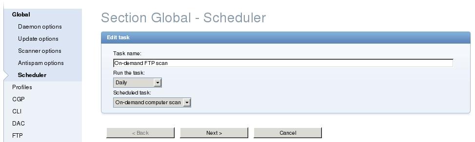 Web Server Security Scan
