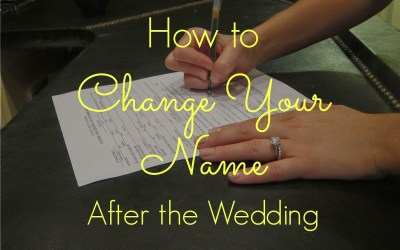 Changing Your Last Name