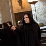 """Although he played in many films, Rickman was best known as the dreary and cold Professor Snape in the """"Harry Potter"""" films."""