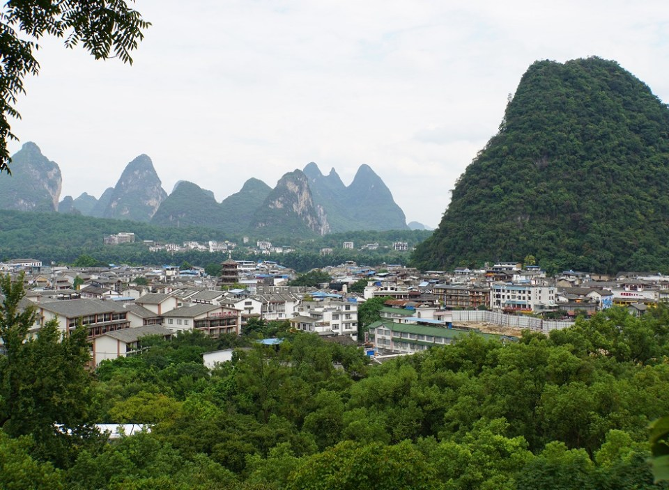 View of Yangshuo