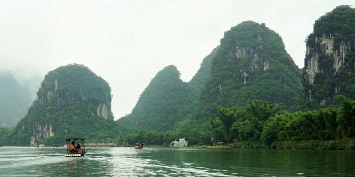 Boating on the Yulong