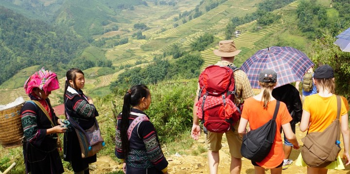 Trekking with the Black Hmong in Sapa