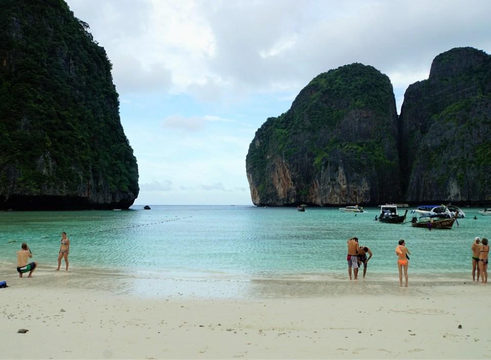 Maya Beach on Phi Phi Leh