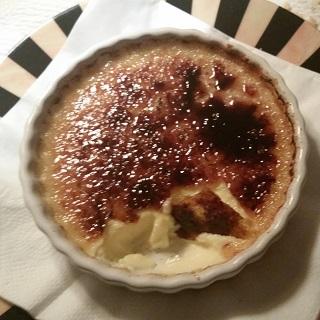 Mmmm... crème brulee!!!