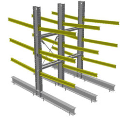 heavy duty cantilever storage systems