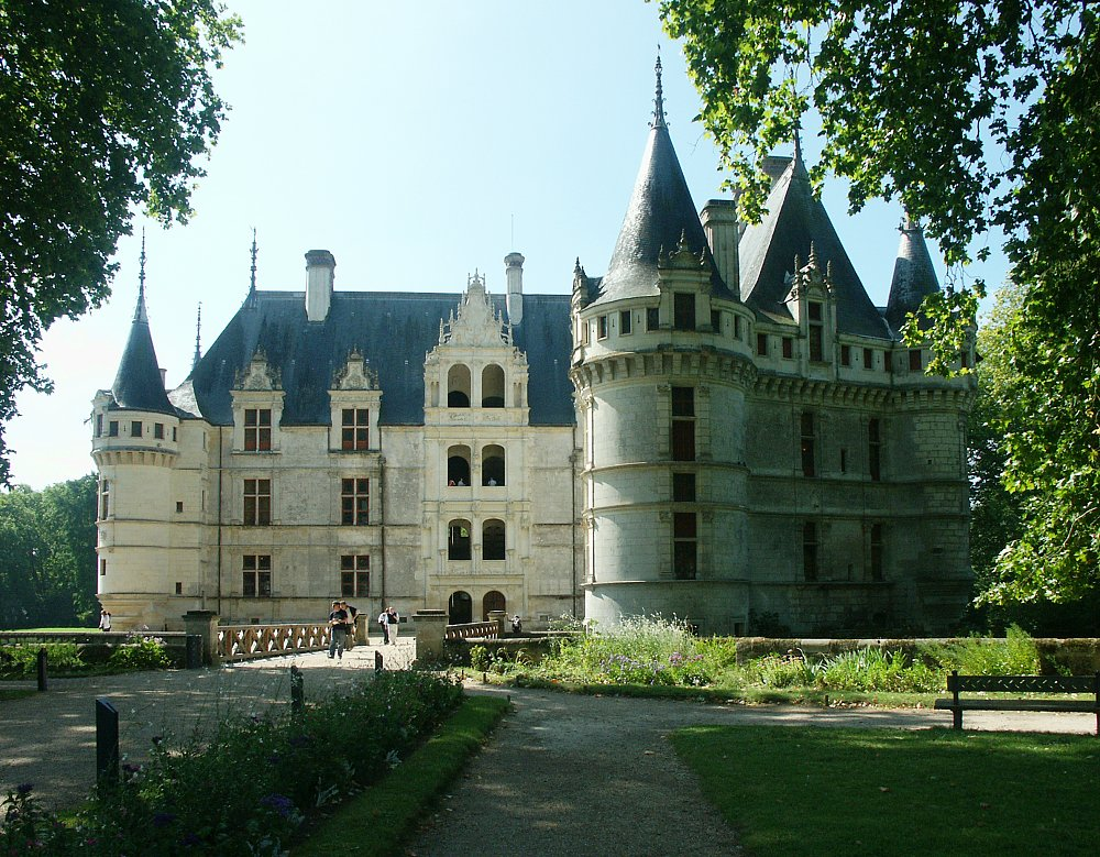 chateau d azay le rideau page 1 of 6 pages