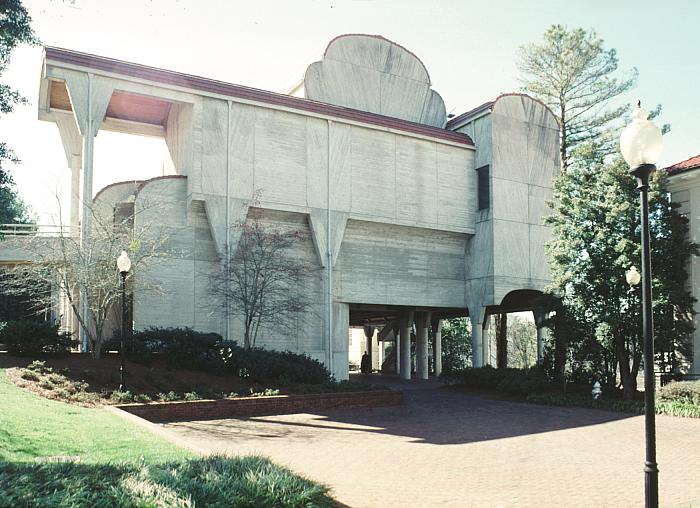 William R Cannon Chapel Emory University By Paul Rudolph