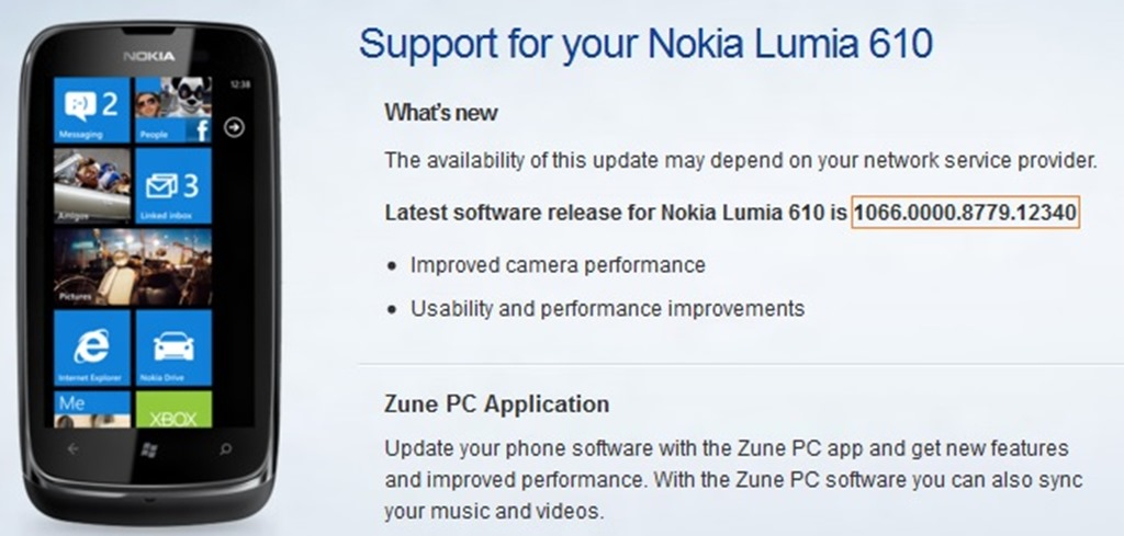 Nokia Lumia support - Updating your software. - Three