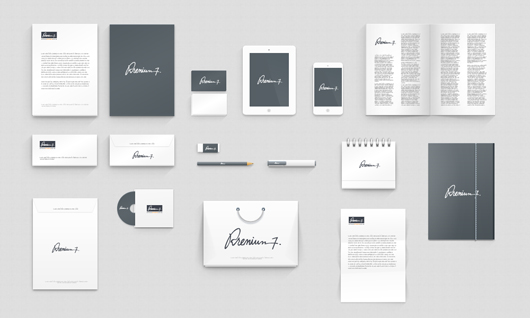 Corporate Identity Photoshop Mock-up (Psd)
