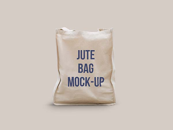 bags play a very important role in our daily lives all the time. Psd Jute Bag Mockup