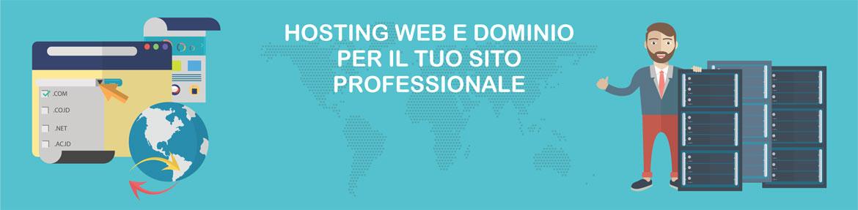 Servizi di web hosting, domini, spazio web, email