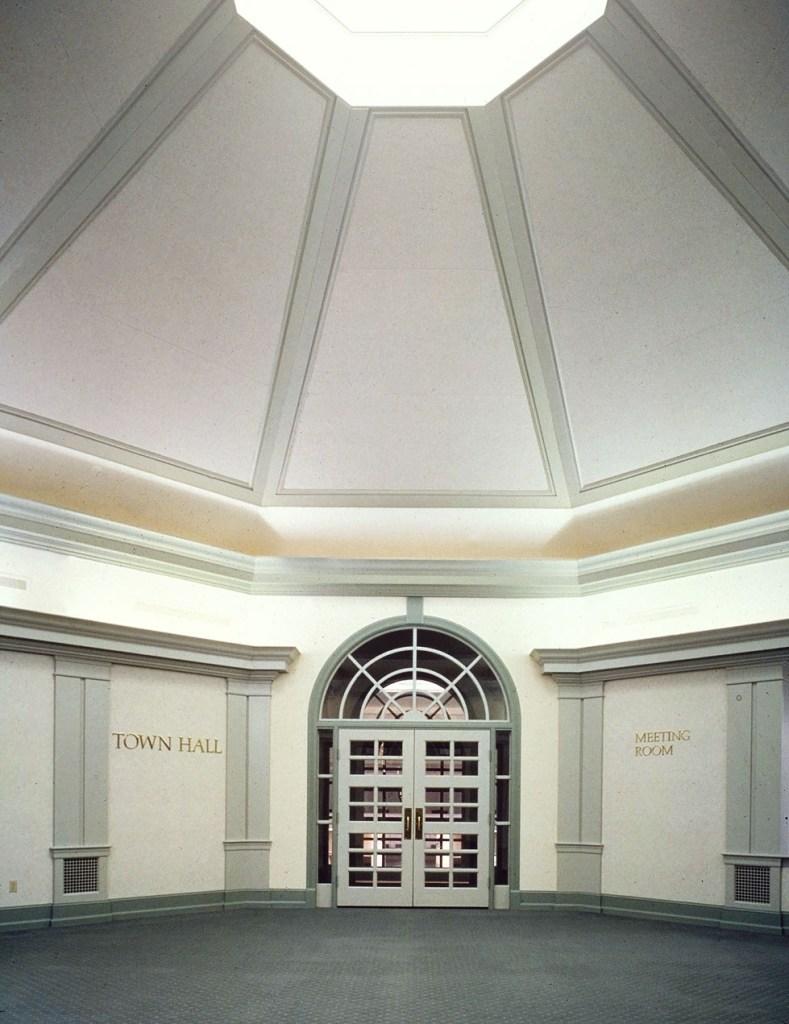 Hamilton Township Municipal Building entrance hall