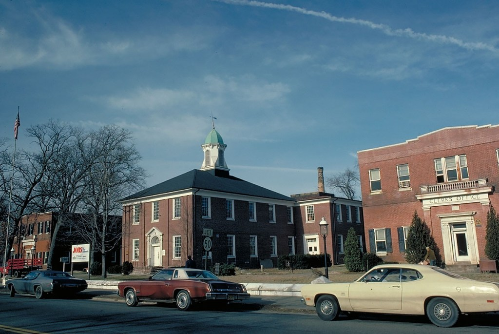 Historic Atlantic County Court House Complex, Mays Landing, before
