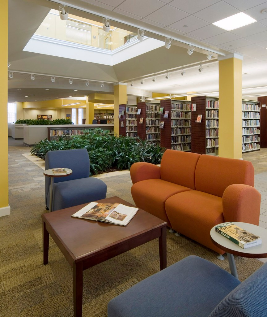 Ventnor Library & Cultural Arts Center interior