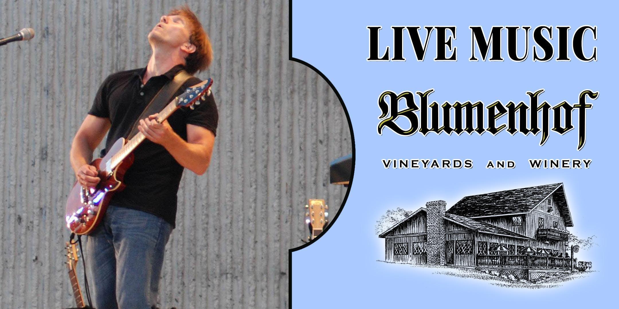 Steve Leslie at Blumenhof Winery