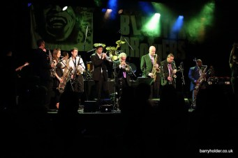 Pee Wee and the Blunter Brothers Horn Section