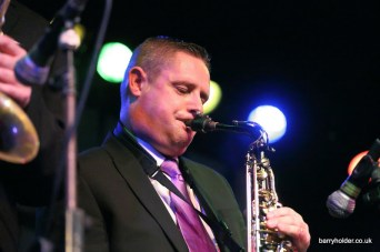 Scott on Sax