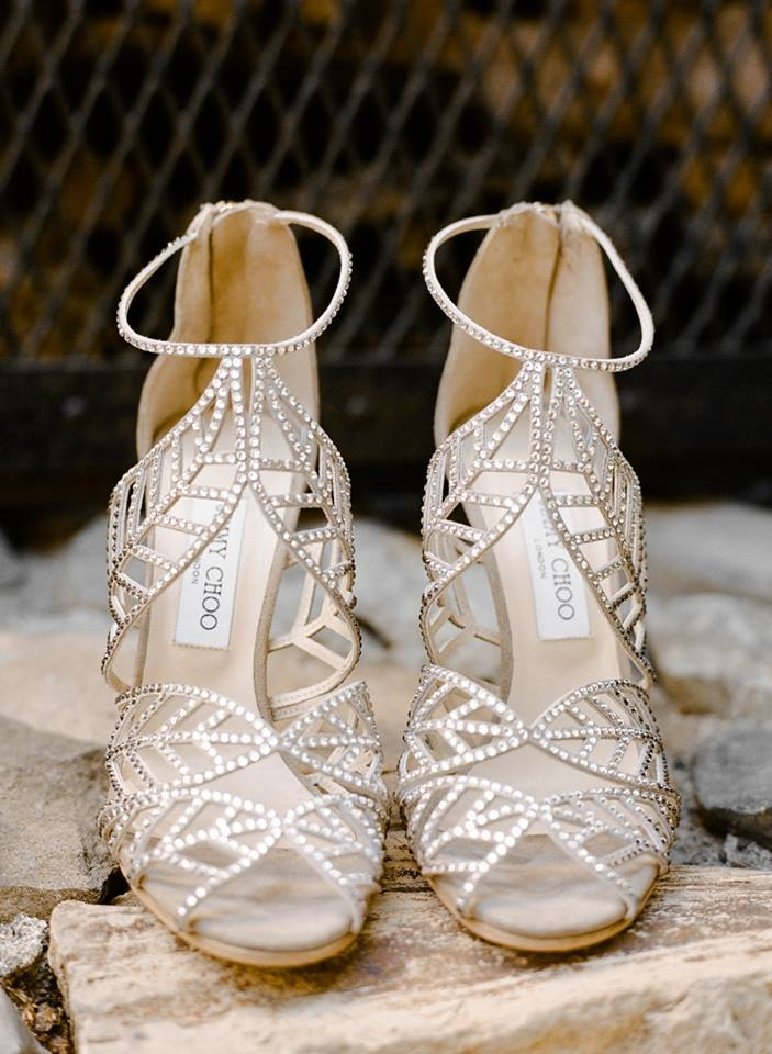 White Flat Wedding Shoes