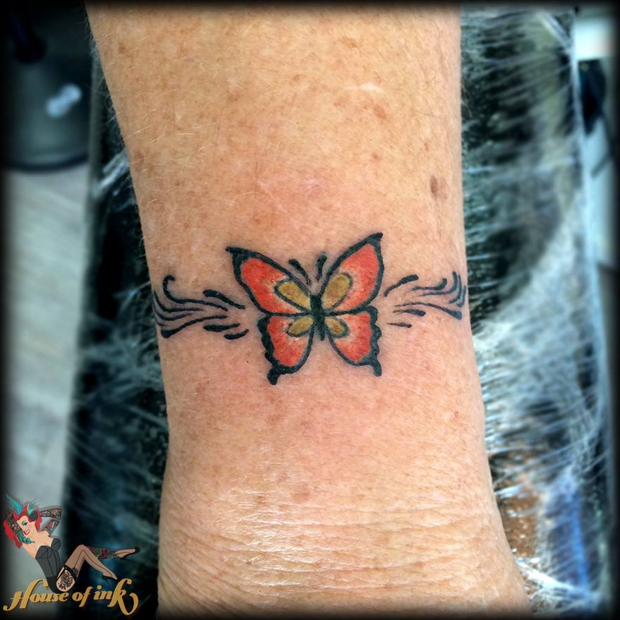 Most Beautiful Butterfly Tattoos