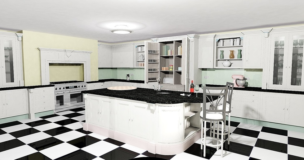 30 Vibrant Art Deco Style Kitchen Ideas To Revamp Your Kitchen