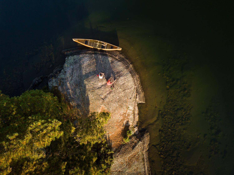 Aerial Photos of Temagami Ontario Canada