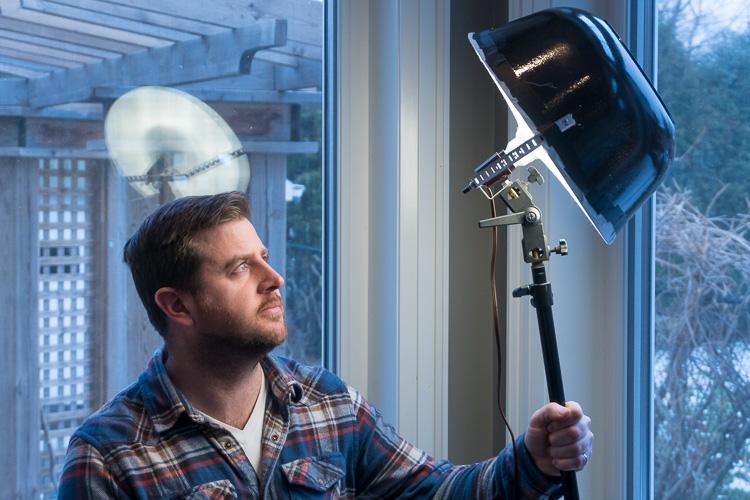DIY Beauty Dish Video Light