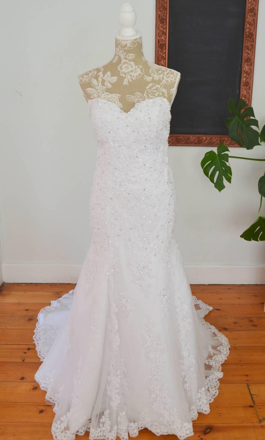 Mermaid Camden wedding dress