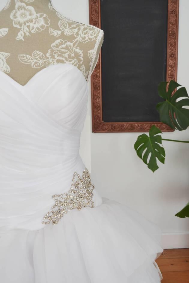Ball gown Lezelle wedding dress