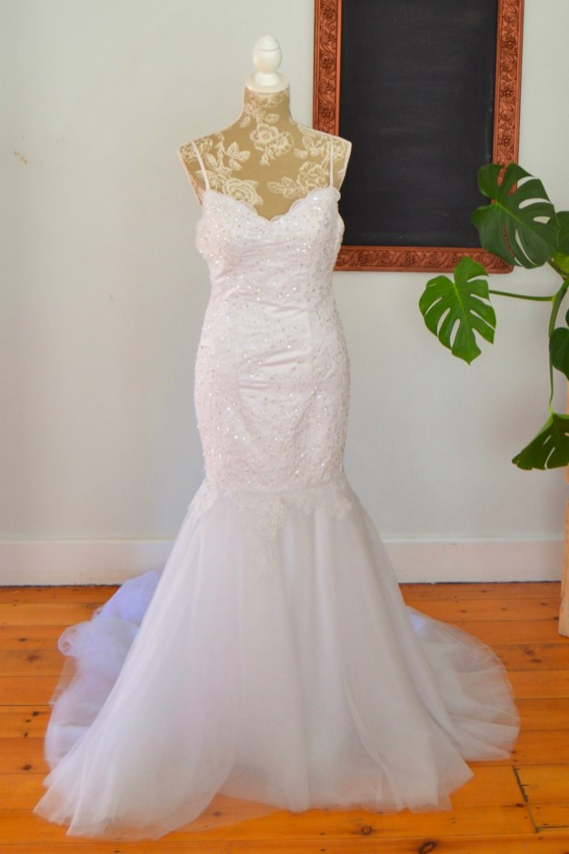 Mermaid Melody wedding dress
