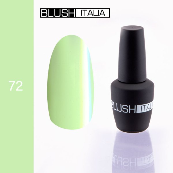 gel polish 72 blush italia