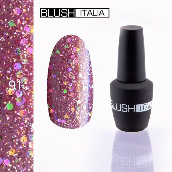 gel polish 91 blush italia