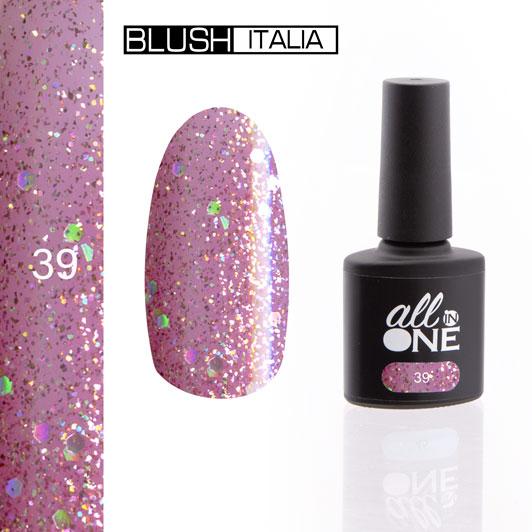 smalto semitrasparente all in one39 blush italia
