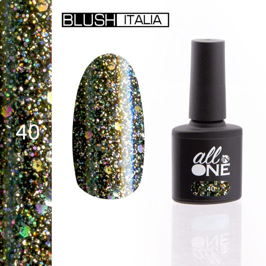 smalto semitrasparente all in one40 blush italia