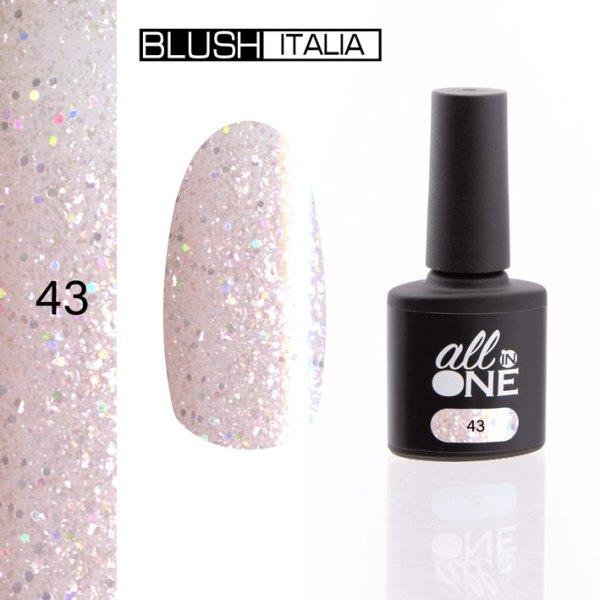 smalto semitrasparente all in one43 blush italia