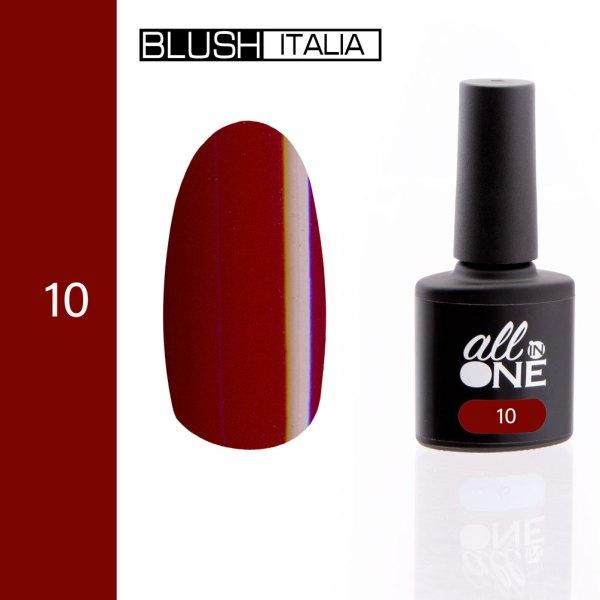 smalto semitrasparente all in one10 blush italia