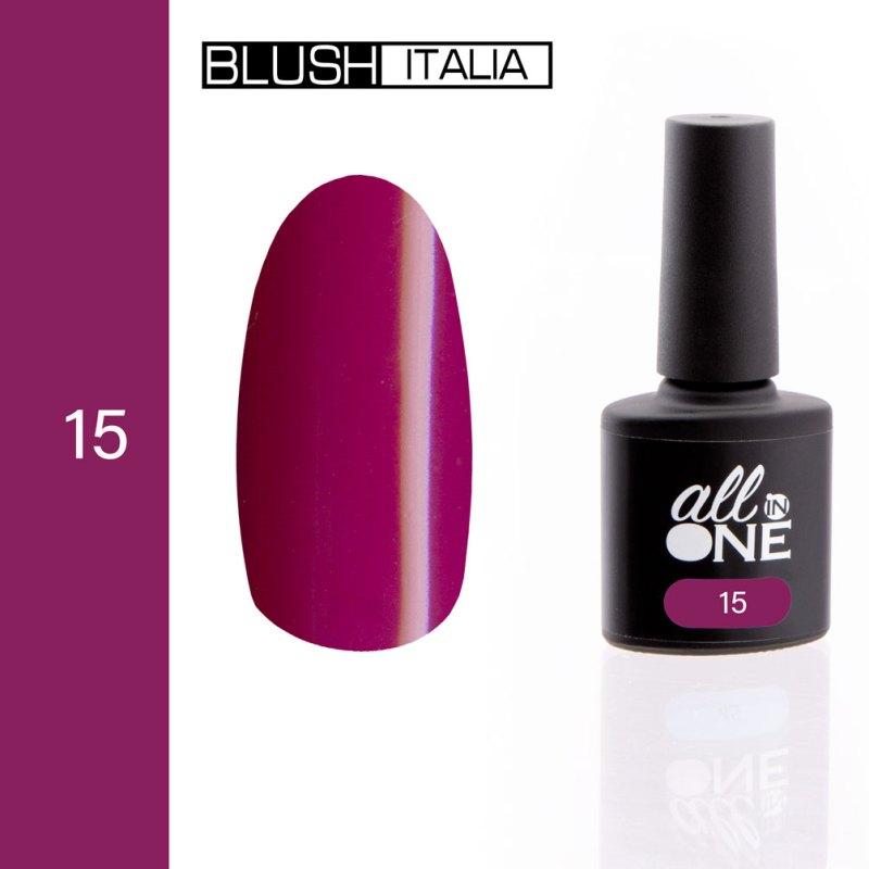 smalto semitrasparente all in one15 blush italia