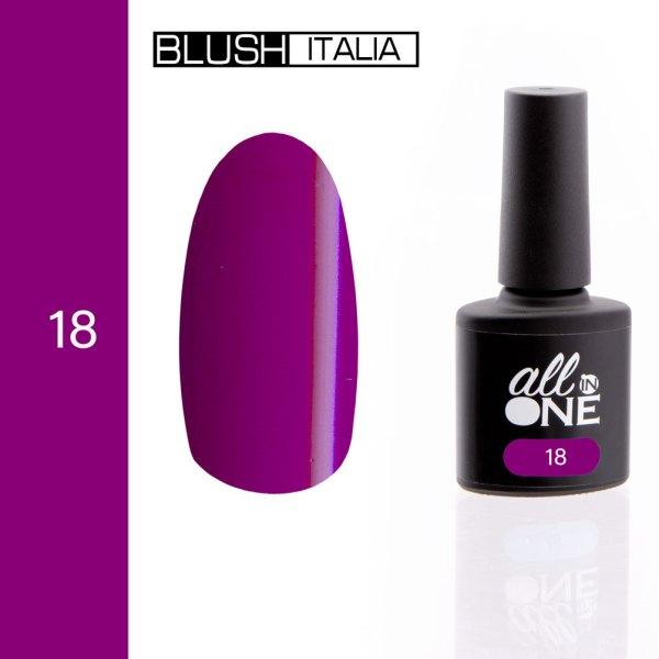 smalto semitrasparente all in one18 blush italia