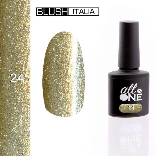 smalto semitrasparente all in one24 blush italia